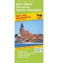 f&b Wanderkarten Waren (Müritz) - Plau am See - Malchow - Röbel/Möritz 1:50.000 Freytag-Berndt und ARTARIA