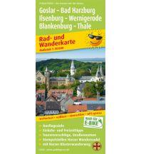 f&b Radkarten Goslar - Bad Harzburg - Ilsenburg - Wernigerode, Blankenburg - Thale Freytag-Berndt und ARTARIA