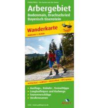 Wanderkarten Arbergebiet, Bodenmais, Drachselsried, Bayerisch Eisenstein Freytag-Berndt und ARTARIA