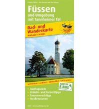 f&b Wanderkarten Füssen und Umgebung mit Tannheimer Tal Freytag-Berndt und ARTARIA