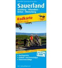 f&b Wanderkarten Sauerland 1:100.000 Freytag-Berndt und ARTARIA