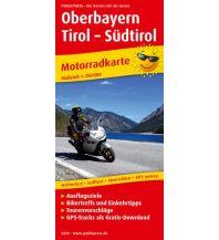 Motorradreisen Oberbayern - Tirol - Südtirol Freytag-Berndt und ARTARIA