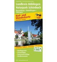f&b Wanderkarten Landkreis Böblingen - Naturpark Schönbuch, Herrenberg - Sindelfingen - Tübingen Freytag-Berndt und ARTARIA
