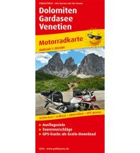 Motorradreisen Dolomiten - Gardasee - Venetien Freytag-Berndt und ARTARIA