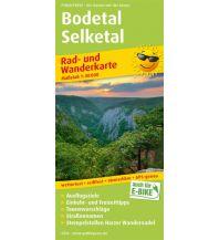 f&b Radkarten Bodetal - Selketal Freytag-Berndt und ARTARIA