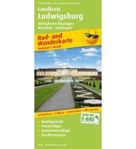 f&b Wanderkarten Landkreis Ludwigsburg, Bietigheim-Bissingen, Marbach - Vaihingen Freytag-Berndt und ARTARIA
