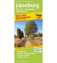 f&b Wanderkarten Lüneburg, Winsen - Lauenburg - Dahlenburg Freytag-Berndt und ARTARIA