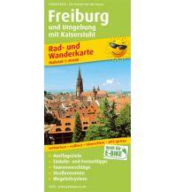 f&b Wanderkarten Freiburg und Umgebung mit Kaiserstuhl Freytag-Berndt und ARTARIA