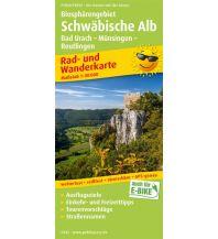 f&b Wanderkarten Biosphärengebiet Schwäbische Alb, Bad Urach - Münsingen - Reutlingen Freytag-Berndt und ARTARIA