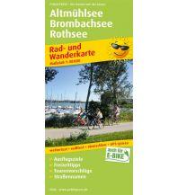 f&b Wanderkarten Altmühlsee - Brombachsee - Rothsee Freytag-Berndt und ARTARIA