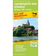 f&b Wanderkarten Lauenburgische Seen - Schaalsee Freytag-Berndt und ARTARIA