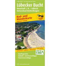f&b Wanderkarten Lübecker Bucht, Neustadt i. Holstein - Lübeck, Ostseebad Boltenhagen Freytag-Berndt und ARTARIA