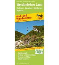 f&b Wanderkarten Werdenfelser Land, Staffelsee - Kochelsee - Walchensee - Zugspitze Freytag-Berndt und ARTARIA
