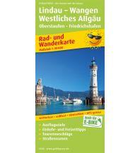 f&b Wanderkarten Lindau - Wangen, Westliches Allgäu, Oberstaufen - Friedrichshafen Freytag-Berndt und ARTARIA