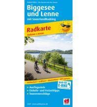 f&b Wanderkarten Biggesee und Lenne 1:50.000 Freytag-Berndt und ARTARIA