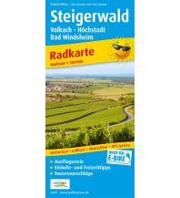 f&b Wanderkarten Steigerwald, Volkach - Höchstadt, Bad Windsheim Freytag-Berndt und ARTARIA