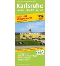 f&b Wanderkarten Karlsruhe, Landau - Kandel - Rastatt Freytag-Berndt und ARTARIA