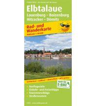 f&b Wanderkarten Elbtalaue, Lauenburg - Boizenburg, Hitzacker - Dömitz Freytag-Berndt und ARTARIA
