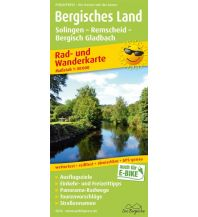 Bergisches Land, Solingen - Remscheid - Bergisch Gladbach Freytag-Berndt und ARTARIA