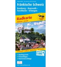 f&b Wanderkarten Fränkische Schweiz, Bamberg - Bayreuth, Forchheim - Erlangen Freytag-Berndt und ARTARIA