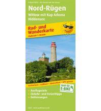 f&b Wanderkarten Nord-Rügen, Wittow mit Kap Arkona, Hiddensee Freytag-Berndt und ARTARIA
