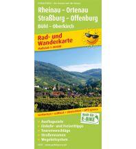 f&b Wanderkarten Rheinau - Ortenau, Straßburg - Offenburg, Bühl - Oberkirch Freytag-Berndt und ARTARIA