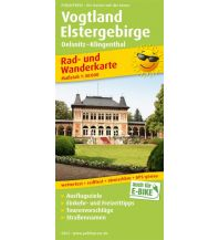 f&b Wanderkarten Vogtland - Elstergebirge Freytag-Berndt und ARTARIA