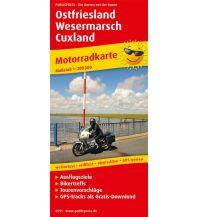 Motorradreisen Ostfriesland - Wesermarsch - Cuxland Freytag-Berndt und ARTARIA