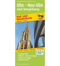 f&b Wanderkarten Ulm – Neu-Ulm und Umgebung Freytag-Berndt und ARTARIA