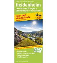 f&b Wanderkarten Heidenheim, Gerstetten - Giengen - Gundelfingen - Neresheim Freytag-Berndt und ARTARIA