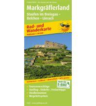 f&b Wanderkarten Markgräflerland, Staufen im Breisgau - Belchen - Lörrach Freytag-Berndt und ARTARIA