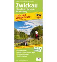 Zwickau, Glauchau - Werdau - Schneeberg Freytag-Berndt und ARTARIA