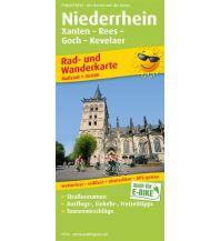 Niederrhein, Xanten - Rees - Goch - Kevelaer Freytag-Berndt und ARTARIA