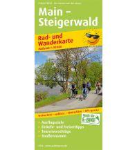 f&b Wanderkarten Main - Steigerwald Freytag-Berndt und ARTARIA