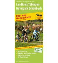 f&b Wanderkarten Landkreis Tübingen - Naturpark Schönbuch Freytag-Berndt und ARTARIA