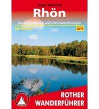 Wanderführer Rother Wanderführer Rhön Bergverlag Rother