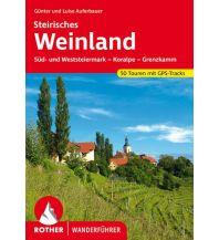Wanderführer Rother Wanderführer Steirisches Weinland Bergverlag Rother