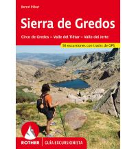 Wanderführer Rother Guía excursionista Sierra de Gredos Bergverlag Rother