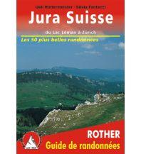 Wanderführer Jura Suisse - Du Lac Léman à Zürich Bergverlag Rother