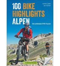 Mountainbike-Touren - Mountainbikekarten 100 Bike-Highlights Alpen Bruckmann Verlag