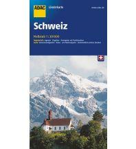 Straßenkarten Schweiz ADAC LänderKarte Schweiz 1:301 000 ADAC Verlag