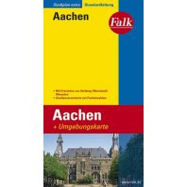 Stadtpläne Falk Stadtplan Extra Standardfaltung Aachen 1:19 500 Falk Verlag AG