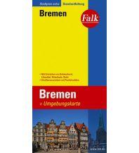 Stadtpläne Falk Stadtplan Extra Standardfaltung Bremen mit Ortsteilen von Delmenhorst, Lili Falk Verlag AG