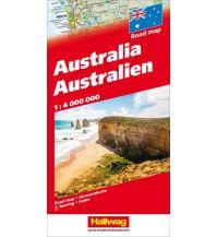 Straßenkarten Australien - Ozeanien Australien Hallwag Verlag