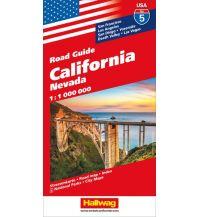 Straßenkarten California Hallwag Verlag