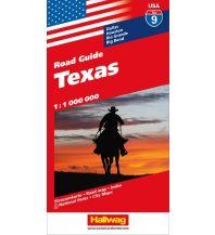 Straßenkarten Texas Hallwag Verlag