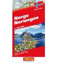 Straßenkarten Norwegen Strassenkarte Hallwag Verlag