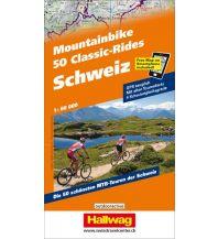 Mountainbike-Touren - Mountainbikekarten 50 Mountainbike Classic-Rides Schweiz Hallwag Verlag