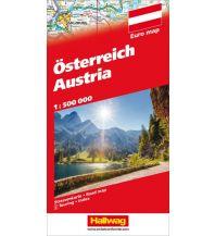 Straßenkarten Österreich Strassenkarte Hallwag Verlag