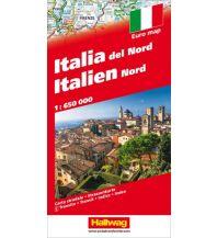 Straßenkarten Italien Nord Strassenkarte Hallwag Verlag